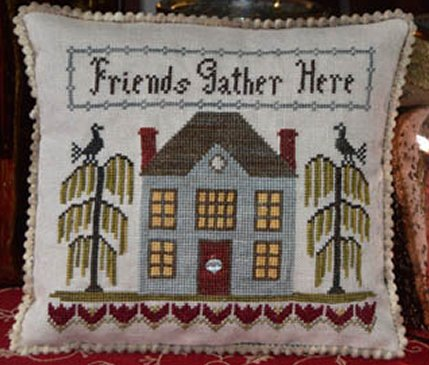 Abby Rose Designs Friends Gather Here