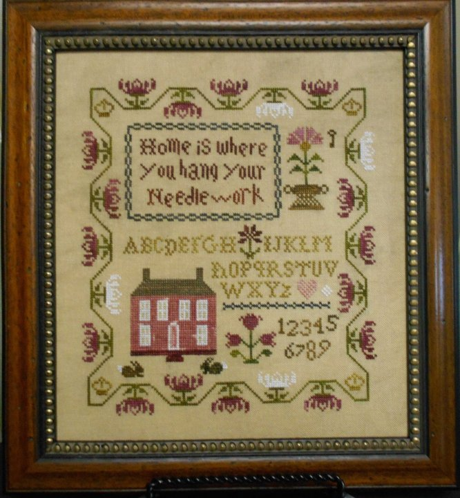 Abby Rose Designs Home Is Where You Hang Your Needlework