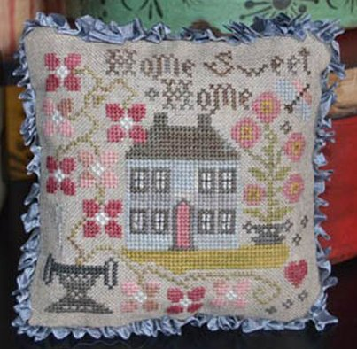 Abby Rose Designs  Home Sweet Home Pin Pillow