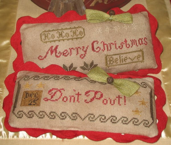 Abby Rose Designs Merry Christmas & Don't Pout