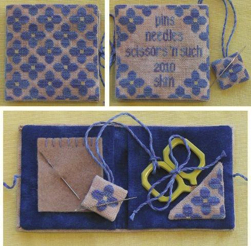 Acorn House Designs CloseoutPocket-Sized Posy Needlework Case