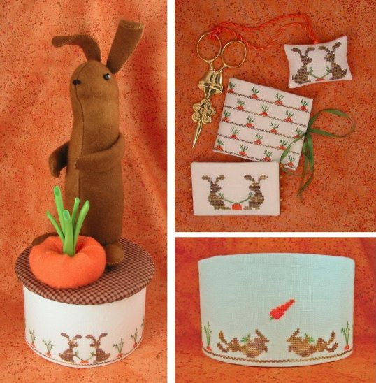 Acorn House Designs Closeout Stubborn Bunnies