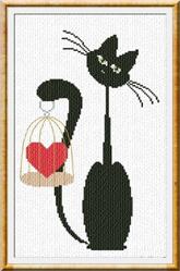 Alessandra Adelaide Needleworks AAN182 Valentine Meow