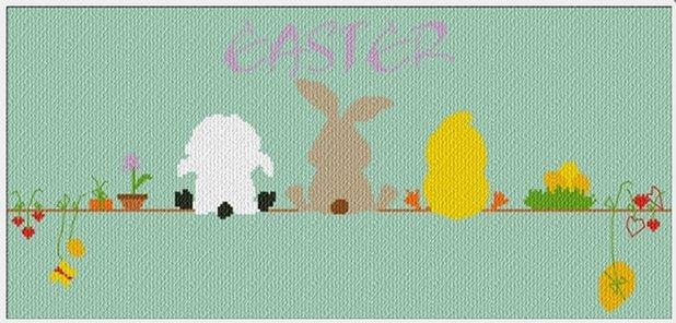 Alessandra Adelaide Needleworks AAN189 Waiting For Easter