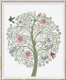 Alessandra Adelaide Needleworks AAN190 Albero Della Serentia