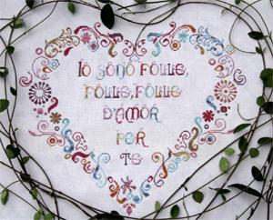 Alessandra Adelaide Needleworks AAN240 Amor Folle