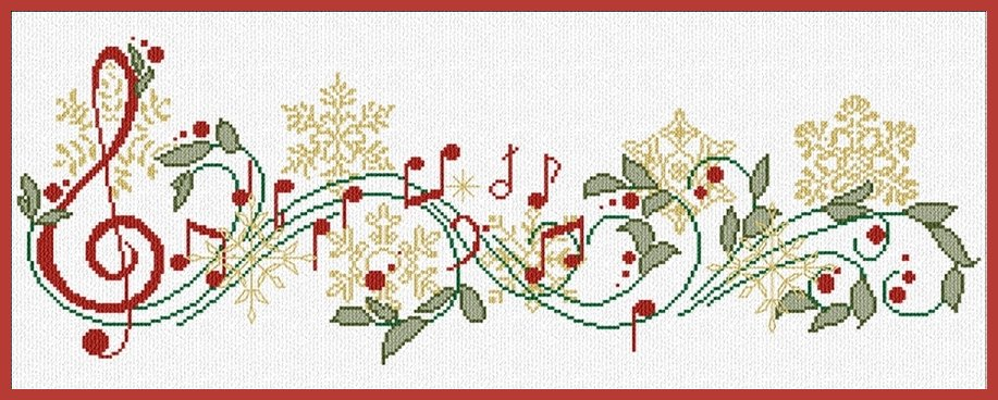Alessandra Adelaide Needleworks AAN276 Canti de Natale