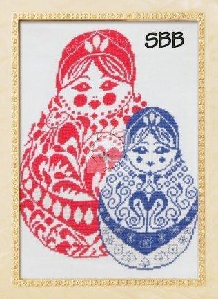 Alessandra Adelaide Needleworks AAN301 Russian Dolls