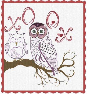 Alessandra Adelaide Needleworks AAN350 Owl XOOX