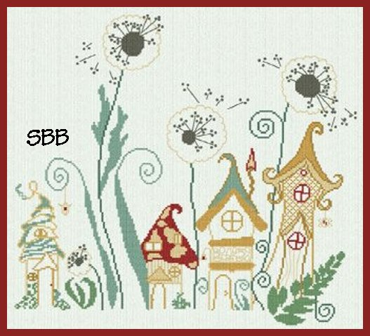 Alessandra Adelaide Needleworks AAN368 Under The Dandelions