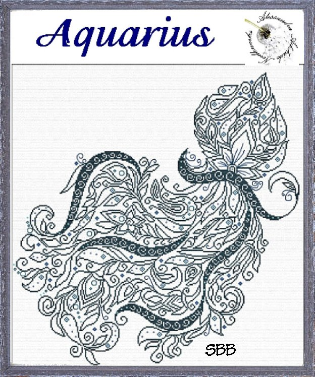 Alessandra Adelaide Needleworks AAN405 Aquarius