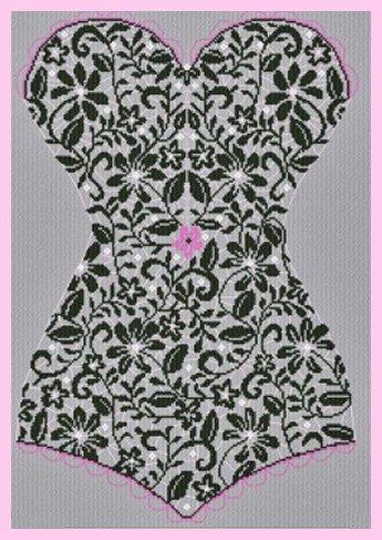 Alessandra Adelaide Needleworks AAN406 Lace Corset