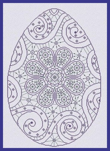 Alessandra Adelaide Needleworks AAN412 Easter in Lace