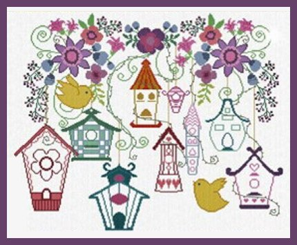 Alessandra Adelaide Needleworks AAN413 New Houses For Spring