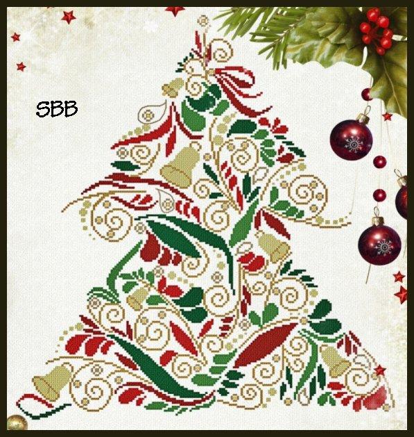 Alessandra Adelaide Needleworks AAN441 Christmas Tree 102