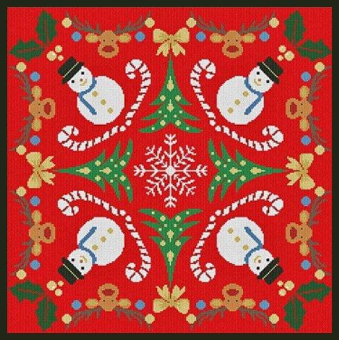 Alessandra Adelaide Needleworks AAN448 Riunione di Natale