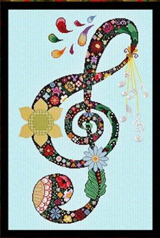 Alessandra Adelaide Needleworks AAN450 Music