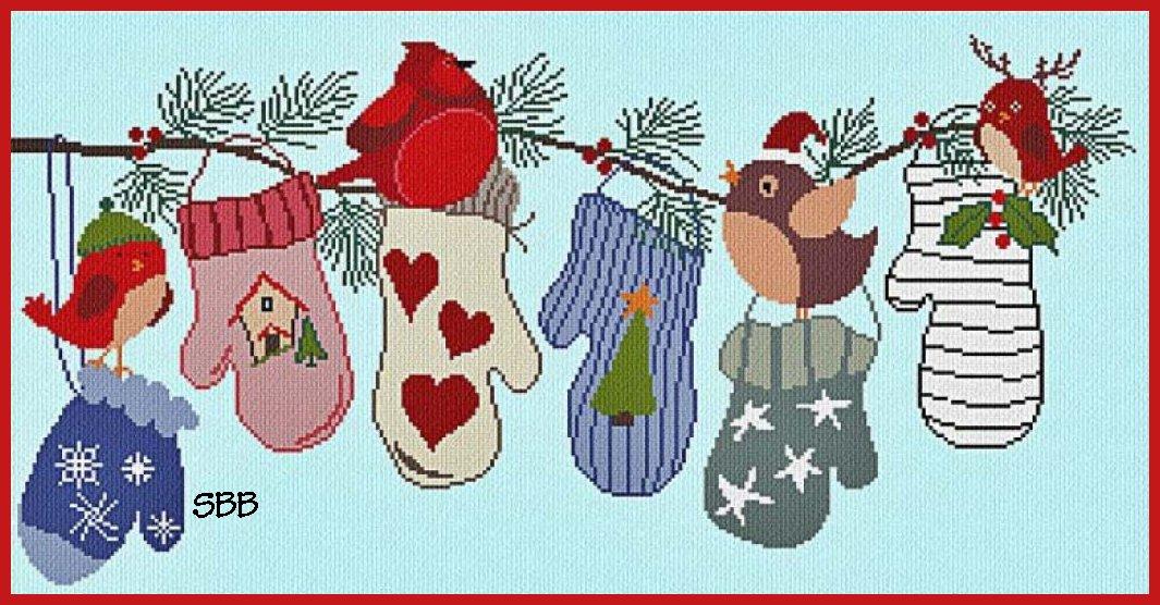 Alessandra Adelaide Needleworks AAN458 Christmas Wishlist
