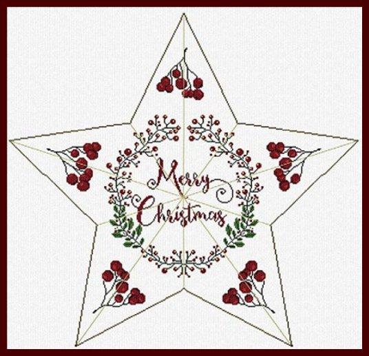 Alessandra Adelaide Needleworks AAN461 Christmas Star