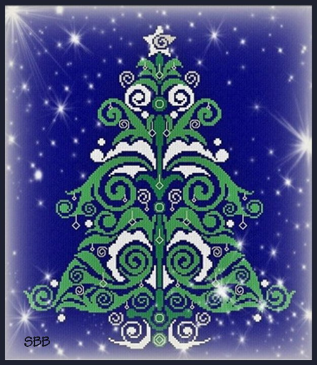 Alessandra Adelaide Needleworks AAN561 Christmas Tree 27