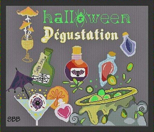 Alessandra Adelaide Needleworks AAN567 Halloween Degustation