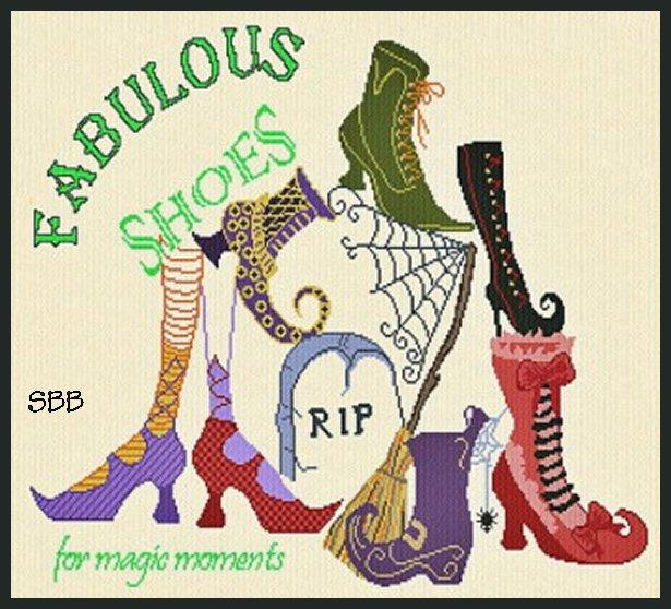 Alessandra Adelaide Needleworks AAN575 Magic Shoemaker