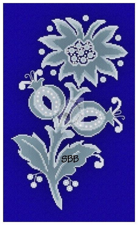 Alessandra Adelaide Needleworks AAN590 Frozen Flower #1