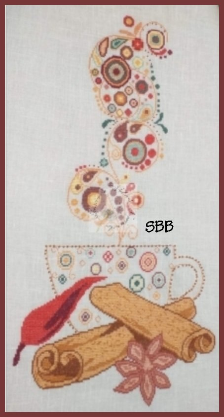 Alessandra Adelaide Needleworks AAN594 Spice Tea