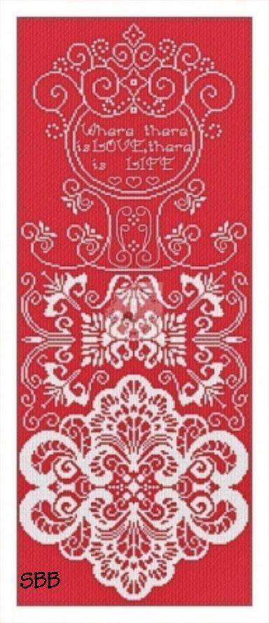 Alessandra Adelaide Needleworks AAN595 Sampler In Red