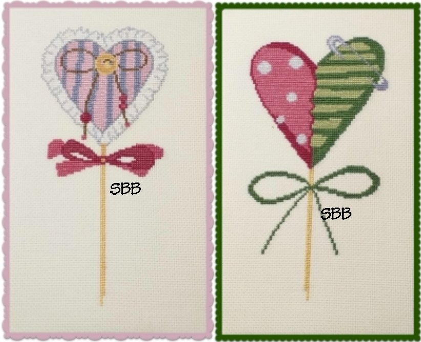 Alessandra Adelaide Needleworks AAN606 Love Bookmarks (Two Designs)