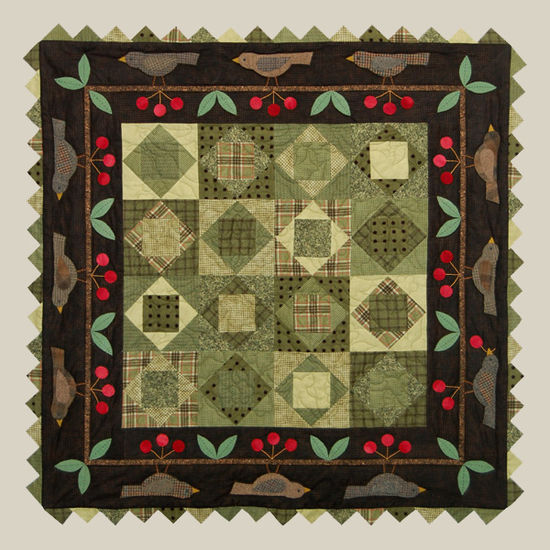 All Through the Night Cherry Pickin' Time Quilt