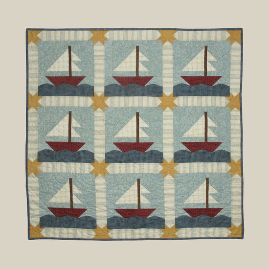 All Through the Night Sail Away Quilt