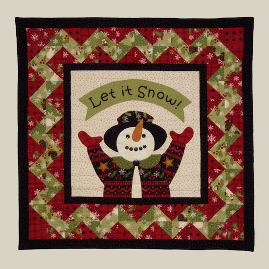 All Through the Night Snow Day Quilt