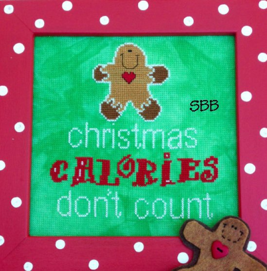 Amy Bruecken Designs Christmas Calories Don't Count