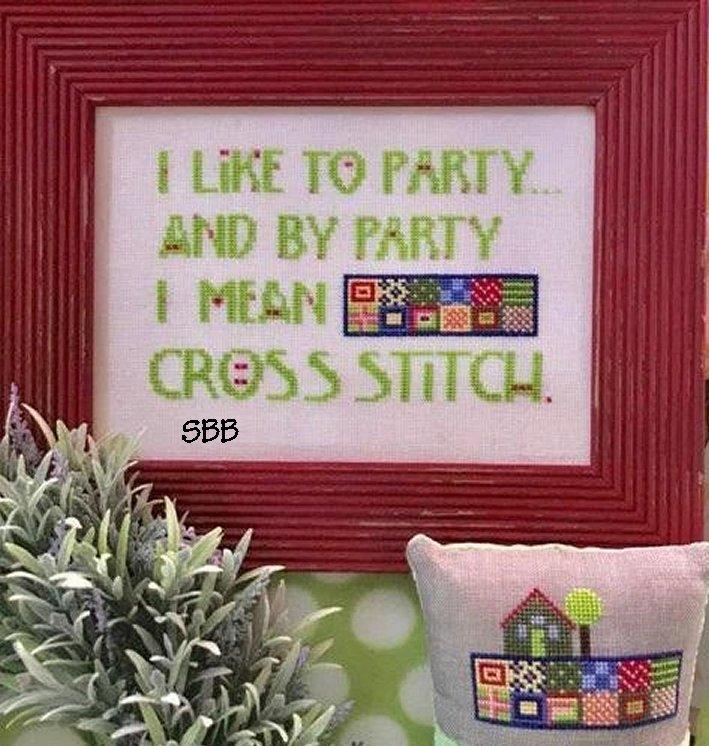 Amy Bruecken Designs Cross Stitch Party