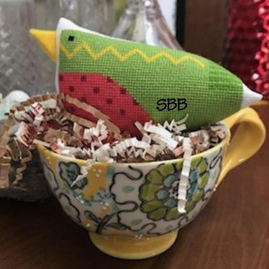Amy Bruecken Designs Green Bird