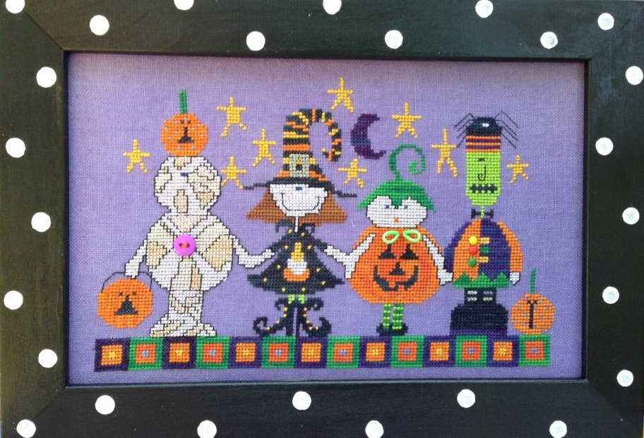Amy Bruecken Designs Halloween Parade