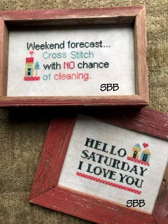 Amy Bruecken Designs Hello Saturday I Love You