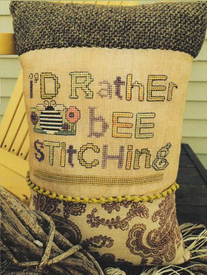 Amy Bruecken Designs I'd Rather Bee Stitching