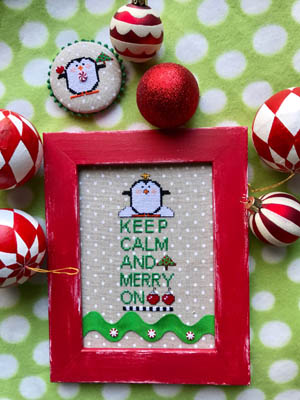 Amy Bruecken Designs Keep Calm And Merry On