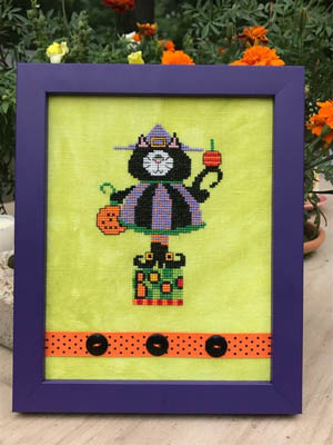 Amy Bruecken Designs Kitty Witch
