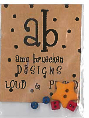 Amy Bruecken Designs Loud and Proud Embellishments