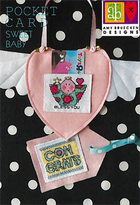 Amy Bruecken Designs Sweet Baby Pocket Card