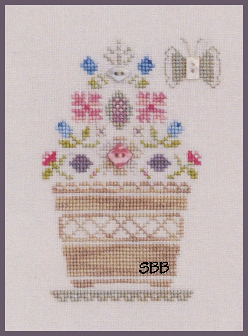 Annalee Waite Designs Limited Edition Basket Of Flowers Kit