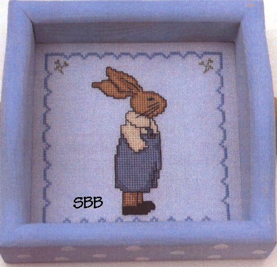 Annalee Waite Designs Limited Edition Rabbit In Blue Kit