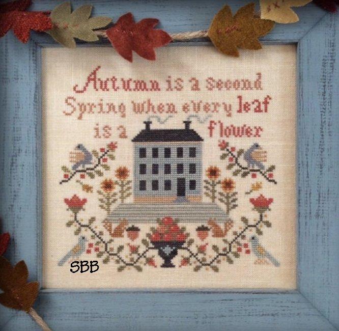 Annie Beez Folk Art Autumn Is A Second Spring