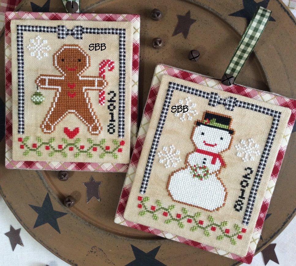 Annie Beez Folk Art Christmas Cookies