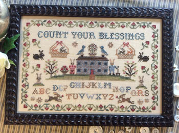 Annie Beez Folk Art Count Your Blessings