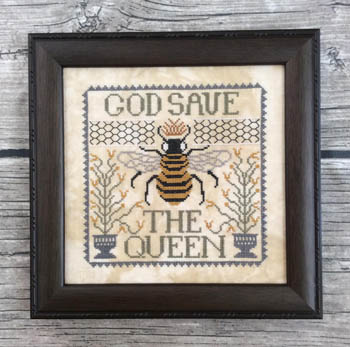 Annie Beez Folk Art God Save The Queen