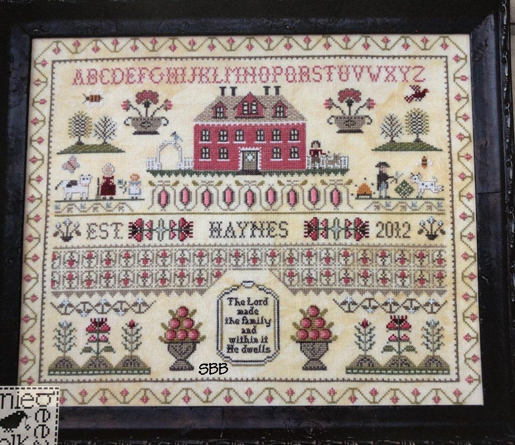 Annie Beez Folk Art Haynes Sampler